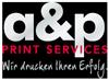 a&p PRINT SERVICES